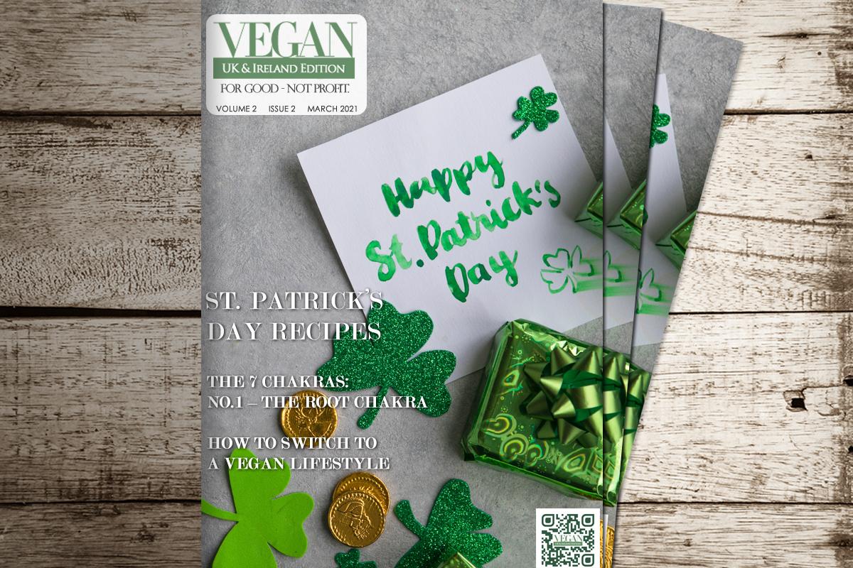 vegan magazine march